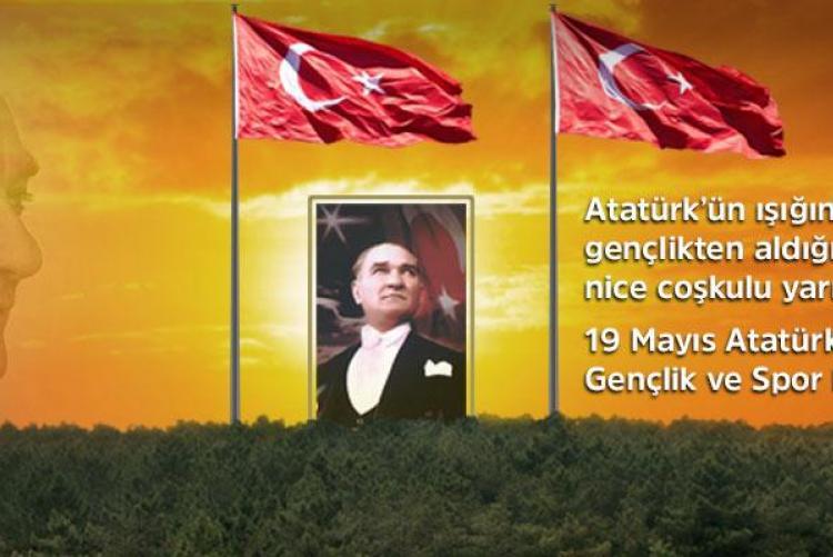 19 Mayıs Atatürk'ü Anma, Gençlik ve Spor Bayramı kutlu olsun-2020